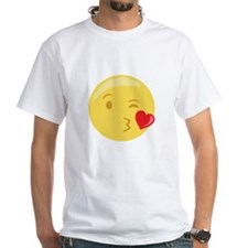 Kiss Wink Face Emoticon T-Shirt