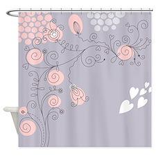 Pretty Floral Shower Curtain