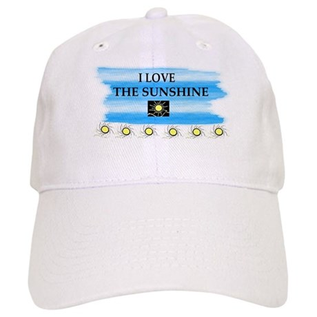 I LOVE THE SUNSHINE Cap