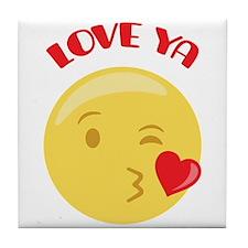 LOVE YA Tile Coaster