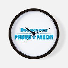 Beauceron Parent Wall Clock