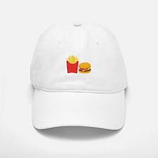 Fast Food French Fries Burger Baseball Baseball Baseball Cap