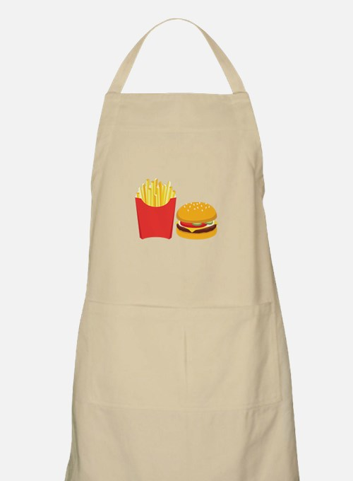 Fast Food French Fries Burger Apron