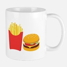 Fast Food French Fries Burger Mugs