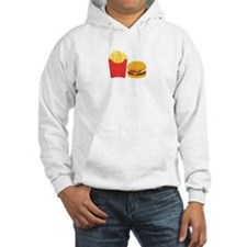 Fast Food French Fries Burger Hoodie