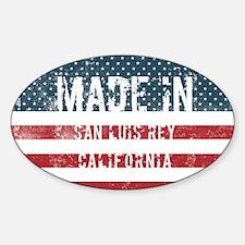 Made in San Luis Rey, California Decal