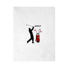 Golf Swing Twin Duvet