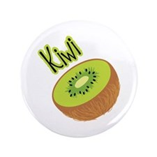 "Kiwi 3.5"" Button (100 pack)"