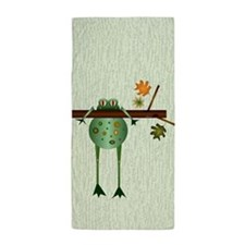 Of Trees And Frogs Beach Towel