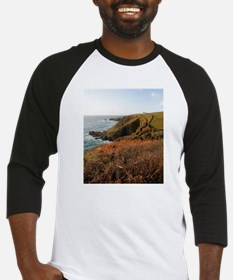 Lizard Point headland, Cornwall Baseball Jersey