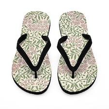 William Morris Michaelmas Daisy Flip Flops