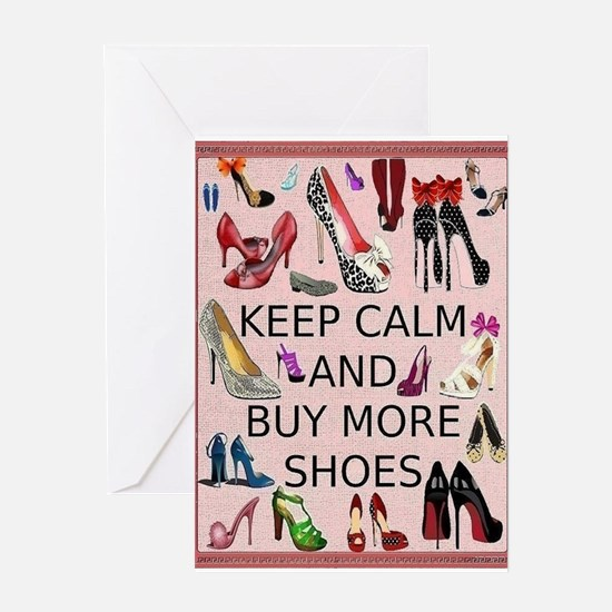 Shoes Card Greeting Cards
