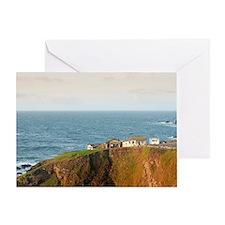 Lizard Point Cornwall Greeting Card