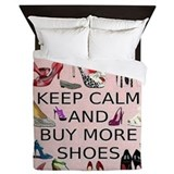 High heels Luxe Full/Queen Duvet Cover