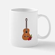 Spanish Flamenco Music Acoustic Guitar Mugs