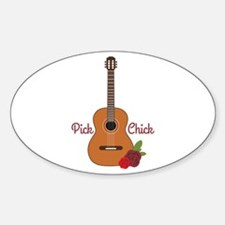 Pick Chick Decal