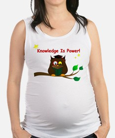 Wise Owl Maternity Tank Top