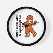 The Gingerbread Man Wall Clock