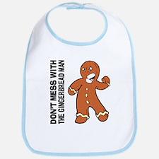 The Gingerbread Man Bib