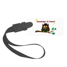 Wise Owl Luggage Tag