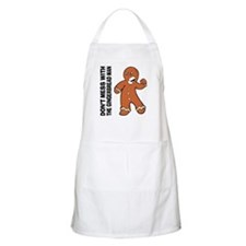 The Gingerbread Man BBQ Apron