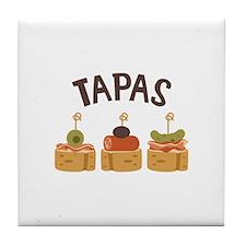 Tapas Tile Coaster