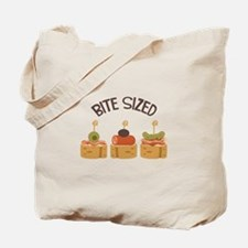 Bite Sized Tote Bag