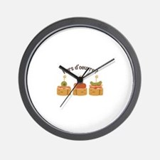 Hors doeuvre? Wall Clock