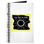 MY TAN IS REAL Journal