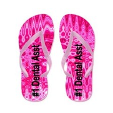 Chic Dental Asst Flip Flops