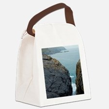 The mining coastline of Cornwall Canvas Lunch Bag