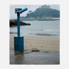 Saint Michael's Mount Throw Blanket