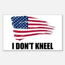 I Dont Kneel Decal