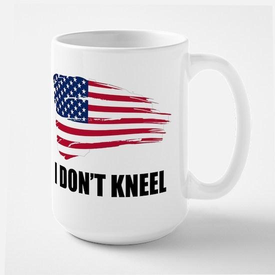 I Dont Kneel Mugs