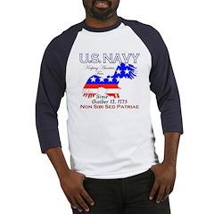 US NAVY Keeping America Free Baseball Jersey