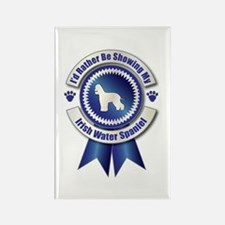 Showing Spaniel Rectangle Magnet (100 pack)