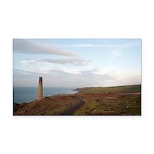 Calciner chimney, Levant mine Rectangle Car Magnet