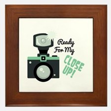 Ready for my CLOSE UP ! Framed Tile