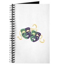 Happy Sad Drama Acting Theatre Masks Journal