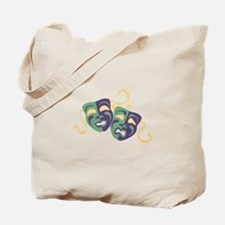 Happy Sad Drama Acting Theatre Masks Tote Bag