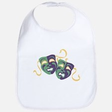Happy Sad Drama Acting Theatre Masks Bib
