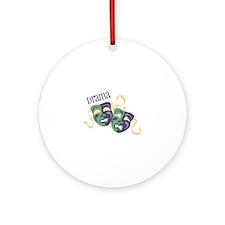 Drama Ornament (Round)