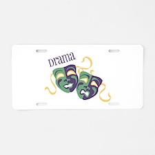 Drama Aluminum License Plate