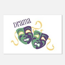 Drama Postcards (Package of 8)