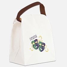 Drama Canvas Lunch Bag