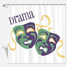 Drama Shower Curtain