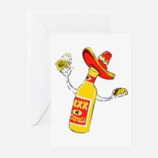 Cerveza Greeting Cards (Pk of 10)