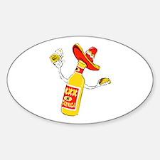 Cerveza Oval Decal
