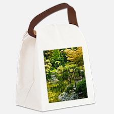 Japanese garden, early autumn Canvas Lunch Bag