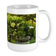 Japanese garden, early autumn Mugs